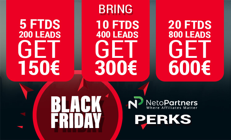 BlackFriday at NetoPartners!